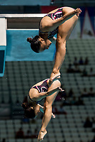 CHOI Sut Kuan, CHOI Sut Ian MAC<br /> Diving <br /> Women's 3m Synchro Springboard Preliminary<br /> Day 04 17/07/2017 <br /> XVII FINA World Championships Aquatics<br /> Duna Arena Budapest Hungary July 15th - 30th 2017 <br /> Photo @A.Masini/Deepbluemedia/Insidefoto
