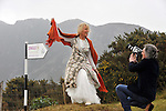 "6-3-2013: ""The Hills are Alive with the sound of Movies?."" World Renowned Kerry born artist Pauline Bewick pictured with filmaker Maurice Galway high up on the McGillycuddy Reeks Mountains for the launch of the 7th Dingle International Film Festiva which takes place from the 15th-18th of March. A special hour long film on the artist will be screened on St. Patrick's Night followed by an on stage interview with the artist by Senator David Norris. .The festival opens with Mark McLoughlin's documentary 'Blood Rising' recording painter Brian Maguire creating images of the many young women of Juarez, Mexico who have been murdered by the local drug cartels. The  International Animation fest organised with JAM media and featuring the 'Jimmy Murakami Award' named for Oscar nominee and the genius behind 'The Snowman' and 'When the Wind Blows' is a major innovation. A workshop for filmmakers who intend to graduate to feature films will supplement the forty plus screenings of shorts including a contribution from Soho House. The Rock Ticket, featuring Led Zep's 'Celebration Day' and a talk by director Dick Carruthers on how to shoot live music also includes The Beatles' 'Magical Mystery Tour' with producers Anthony Wall and Apple's Jonathan Clyde discussing their influential work chronicling the best of the rock era. More info: www.dinglefilmfestival.com.Photo: Don MacMonagle"