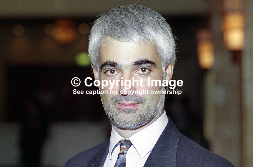 Alistair Darling, MP, Labour Party, politician, UK, 199210AD.<br /> <br /> Copyright Image from Victor Patterson, 54 Dorchester Park, Belfast, UK, BT9 6RJ<br /> <br /> t: +44 28 90661296<br /> m: +44 7802 353836<br /> vm: +44 20 88167153<br /> e1: victorpatterson@me.com<br /> e2: victorpatterson@gmail.com<br /> <br /> For my Terms and Conditions of Use go to www.victorpatterson.com
