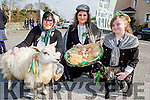 Bridget, Kerry and holly richardson who marched in the Killorglin St Patricks day parade
