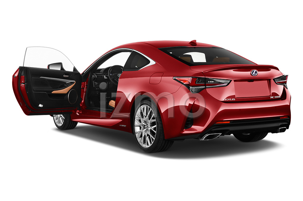 Car images of 2019 Lexus RC 300h-Privilege-Line 2 Door Coupe Doors