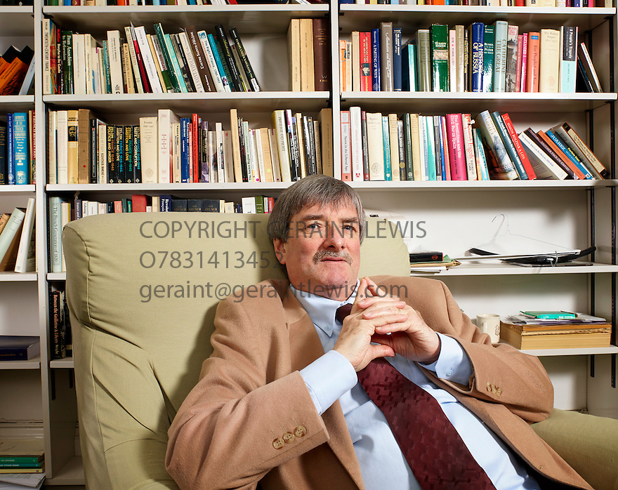Michael Broers  Historian and writer on a book about Napoleon . CREDIT Geraint Lewis
