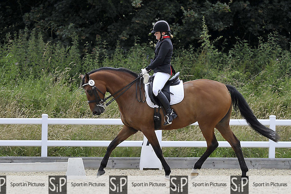 Class 6. British Dressage (BD). Brook Farm Training Centre. Essex. 01/07/2016. MANDATORY CreditGarry Bowdeni/Sportinpictures - NO UNAUTHORISED USE - 07837 394578