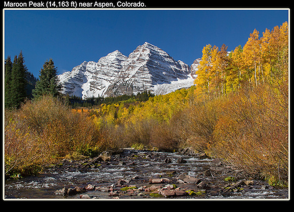 Late-September is a good bet to see autumn Aspen trees and the Maroon Bells. <br />