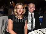 Fergal and Maria Harney at the St. Colmcilles gala ball in City North hotel. Photo:Colin Bell/pressphotos.ie
