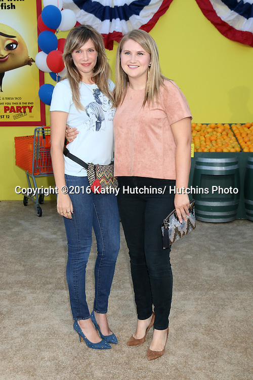 "LOS ANGELES - AUG 9:  Jillian Bell, Charlotte Newhouse at the ""Sausage Party"" Premiere at the Village Theater on August 9, 2016 in Westwood, CA"