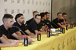 Team leader Richie Porte (AUS) BMC Racing Team press conference before the 104th edition of the Tour de France 2017, Dusseldorf, Germany. 29th June 2017.<br /> Picture: Eoin Clarke | Cyclefile<br /> <br /> <br /> All photos usage must carry mandatory copyright credit (&copy; Cyclefile | Eoin Clarke)