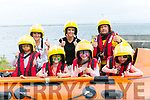 Ballyheigue Inshore Rescue Open Day at the Boathouse on Dromature Pier on Sunday Pictured l-r Samuel Fleury, Elle Fleury, Hannah McKenzie, Finn McKenzie Back Hannah McKenzie,  Rachel Mckenzie and Steve O'Connor