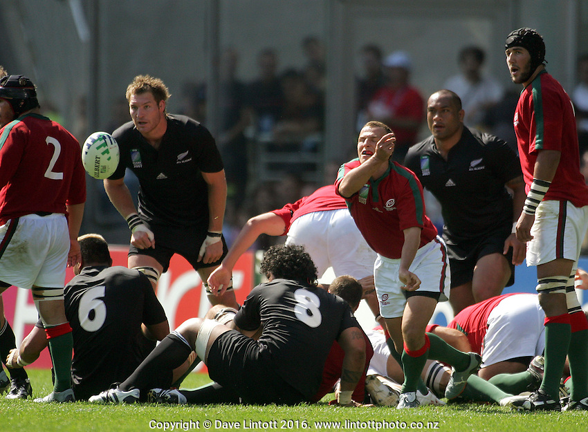 Rugby World Cup, New Zealand v Portugal, 15 September 2007