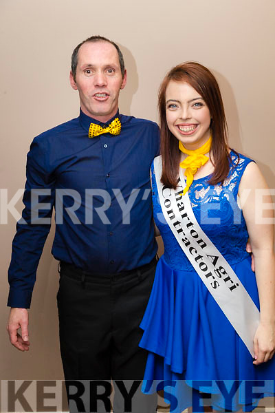 Terence O'Connor and Michelle Lynch at Ballymac Strictly Come Dancing, at Ballygarry House Hotel & Spa, Tralee, on Saturday night
