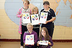 Chloe Campbell, Shantel Smith, Katie O'Connor, Kirsty Ryan and Louise Doyle at the presentation of certificates to students who completed the Literacy Through the Arts Camp at St. Pauls NS...Photo NEWSFILE/Jenny Matthews.(Photo credit should read Jenny Matthews/NEWSFILE)....This Picture has been sent you under the condtions enclosed by:.Newsfile Ltd..The Studio,.Millmount Abbey,.Drogheda,.Co Meath..Ireland..Tel: +353(0)41-9871240.Fax: +353(0)41-9871260.GSM: +353(0)86-2500958.email: pictures@newsfile.ie.www.newsfile.ie.FTP: 193.120.102.198.