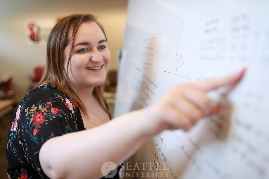 June 9th 2017 - Mariah Arnold, '17, Computer Science from Seattle, Wash. Arnold transferred from North Seattle College to Seattle U and has spent the last two years here studying Computer Science. Arnold landed a job with f5 in Seattle before graduating and will start there this summer in a role of network security.