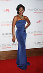 "LOS ANGELES, CA. - December 13: Teyonah Parris attends the ""How Do You Know"" Los Angeles Premiere at Regency Village Theatre on December 13, 2010 in Westwood, California."