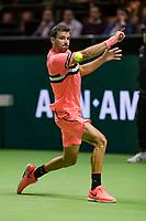 Rotterdam, The Netherlands, 16 Februari, 2018, ABNAMRO World Tennis Tournament, Ahoy, Tennis, Grigor Dimitrov (BUL)<br /> <br /> Photo: www.tennisimages.com