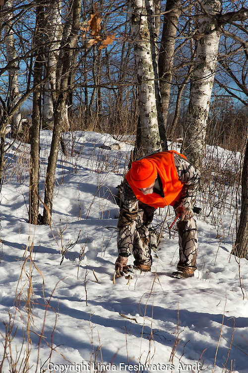 Wisconsin hunter finds an antler shed