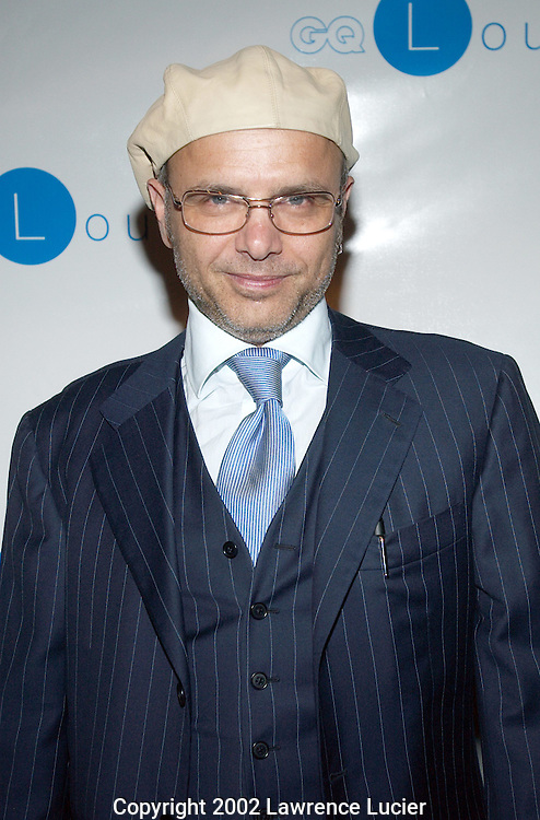 NEW YORK-SEPTEMBER 28: Actor Joe Pantoliano arrives at his book launch at the GQ Lounge September 28, 2002, in New York City. The name of Pantoliano's book is Who's Sorry Now.