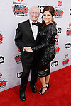 """""""INGLEWOOD, CALIFORNIA - APRIL 03: Recording artist Meghan Trainor (R) and Gary Trainor attend the iHeartRadio Music Awards at The Forum on April 3, 2016 in Inglewood, California.  (Photo by Frazer Harrison/Getty Images for iHeartRadio / Turner)"""""""