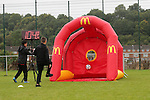 McDonalds Community Football Day <br /> Llanwern High School<br /> Newport<br /> 30.08.15<br /> &copy;Steve Pope - SPORTINGWALES