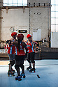 The Dirty South Derby Girls from Atlanta defeated the Arizona All-Stars 227-131 at the 2018 Golden Bowl in Oakland, California.