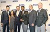 Tony Romo, Tracy Wolfson and Jim Nantz. Burleson, Cowher &amp; Esiason attend the CBS Upfront 2018-2019 at The Plaza Hotel in New York, New York, USA on May 16, 2018.<br /> <br /> photo by Robin Platzer/Twin Images<br />  <br /> phone number 212-935-0770