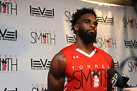 The 6th Annual Torrey Smith Family Fund Charity Basketball game was held on Sunday afternoon at Royal Farms Arena in Baltimore.