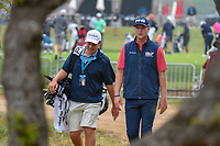 Trey Mullinax (USA) makes his way to the tee on 10 during day 3 of the Valero Texas Open, at the TPC San Antonio Oaks Course, San Antonio, Texas, USA. 4/6/2019.<br /> Picture: Golffile | Ken Murray<br /> <br /> <br /> All photo usage must carry mandatory copyright credit (&copy; Golffile | Ken Murray)