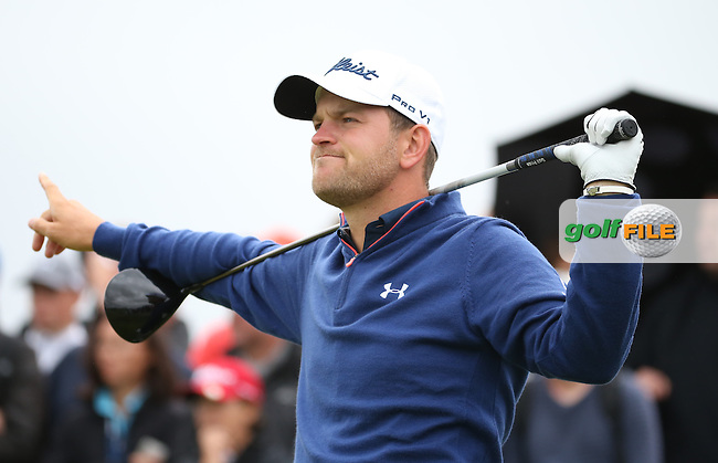 Bernd Wiesberger (AUT) plays down the 18th during the Final Round of the 100th Open de France, played at Le Golf National, Guyancourt, Paris, France. 03/07/2016. Picture: David Lloyd | Golffile.<br /> <br /> All photos usage must carry mandatory copyright credit (&copy; Golffile | David Lloyd)