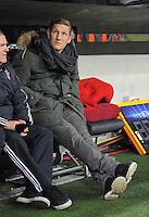 FUSSBALL  CHAMPIONS LEAGUE  ACHTELFINALE  HINSPIEL  2012/2013      FC Bayern Muenchen - FC Arsenal London     13.03.2013 Bastian Schweinsteiger (FC Bayern Muenchen)