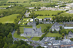 An aerial photo of St. mary's Cathedral and The Presbytery Restaurant in  new Street, Killarney taken in May 2006.<br /> Photo: Don MacMonagle