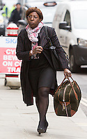 Constance Briscoe arrives at the Old Bailey for sentencing