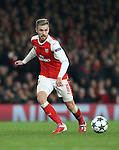 Arsenal's Aaron Ramsey in action during the Champions League group A match at the Emirates Stadium, London. Picture date November 23rd, 2016 Pic David Klein/Sportimage