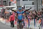 Dan Martin (IRL) Garmin-Sharp wins the 2013 Liege-Bastogne-Liege Spring Classic cycle race.   <br /> April 21st 2013.<br /> Photo Heinz Zwicky/www.newsfile.ie)