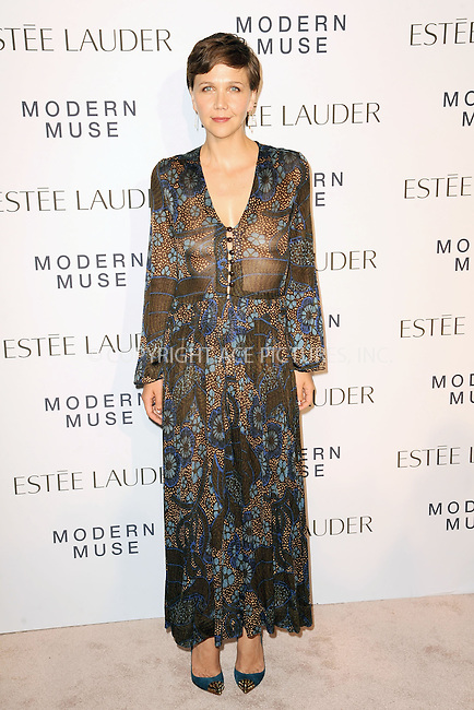 WWW.ACEPIXS.COM<br /> September 12, 2013...New York City<br /> <br /> Maggie Gyllenhaal attending the Estee Lauder 'Modern Muse' Fragrance Launch Party at the Guggenheim Museum on September 12, 2013 in New York City.<br /> <br /> Please byline: Kristin Callahan/Ace Pictures<br /> <br /> Ace Pictures, Inc: ..tel: (212) 243 8787 or (646) 769 0430..e-mail: info@acepixs.com..web: http://www.acepixs.com