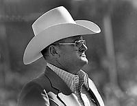 Houston Oiler coach Bum Phillips...(1977 photo/Ron Riesterer)