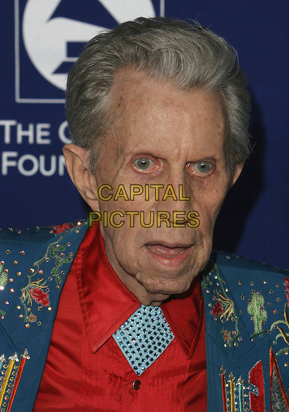 "PORTER WAGONER.The Grammy Foundation presents the 9th Annual Music Preservation Project, ""The Soul Of Country"" celebrates the Magic and History of Country Music at the Wilshire Ebell Theater, Los Angeles, California, USA..February 8th, 2007.headshot portrait .CAP/ADM/CH.©Charles Harris/AdMedia/Capital Pictures"