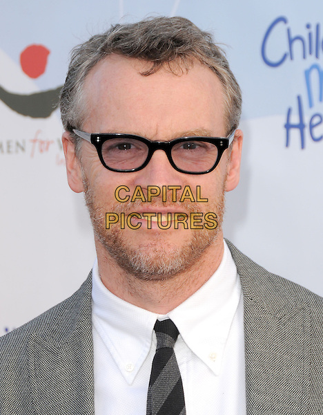 TATE DONOVAN .at the 3rd annual Children Mending Hearts Peace Please Gala held at  The Music Box @ Henry Fonda Theater in Hollywood, California, USA, .April 16th 2010.                                                                   .portrait headshot glasses beard facial hait white shirt tie grey gray .CAP/RKE/DVS.©DVS/RockinExposures/Capital Pictures.
