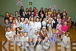 The children and teenagers from Waterville put on a spectacular Christmas show in aid of the Waterville Early Years Centre pictured here at the Community Centre in Waterville on Sunday night.