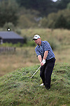 Day one of the Irish PGA championship at Seapoint Golf Club, John Murray, Malahide Golf Club hitting on to the 9th green....Picture Jenny Matthews/Newsfile.ie