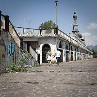Il paese fantasma di Consonno, famoso negli anni '70 come la città dei balocchi..Consonno, the ghost village famous in '70s like the toyland
