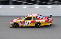 Jul. 3, 2008; Daytona Beach, FL, USA; NASCAR Sprint Cup Series driver Patrick Carpentier during practice for the Coke Zero 400 at Daytona International Speedway. Mandatory Credit: Mark J. Rebilas-
