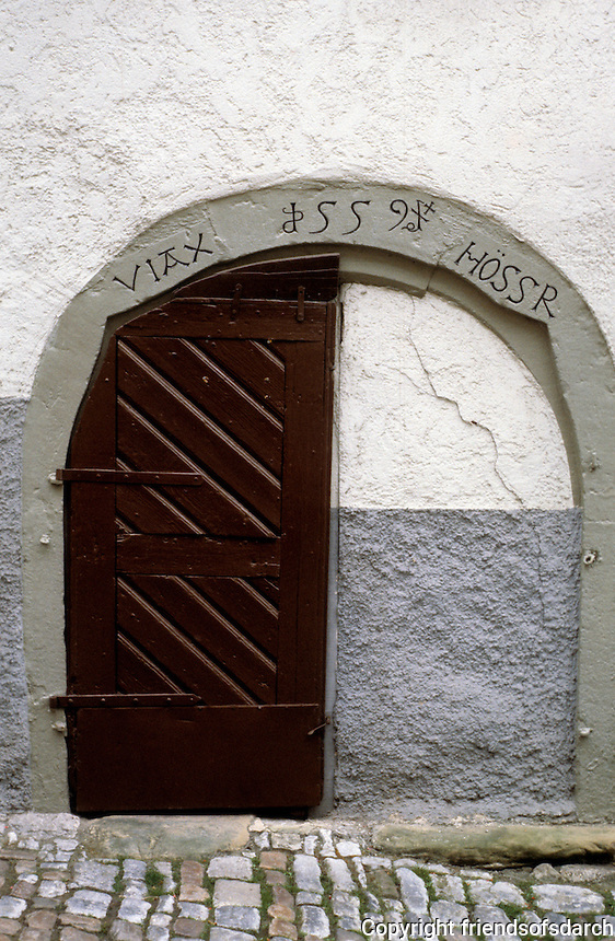 Bad Wimpfen: Doorway, 1559. Photo '87.