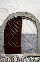 Bad Wimpfen: Doorway, 1559. Photo '87.