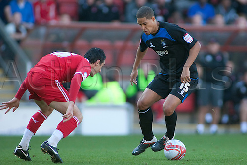 15.10.2011, London, England. Giles Coke Bury's midfielder in action during the NPower league one football match between Leyton Orient and Bury played at the Matchroom Stadium, Brisbane Road, London. Mandatory credit: ActionPlus