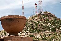 Las lluvias rindieron sis frutos al dar color a  Hermosillo con el clásico cerro de la Campana