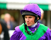 Jockey Ryan Moore during Evening Racing at Salisbury Racecourse on 11th June 2019