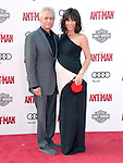 "Michael Douglas and Evangeline Lilly attends The Premiere Of Marvel's ""Ant-Man"" held at The Dolby Theatre  in Hollywood, California on June 29,2015                                                                               © 2015 Hollywood Press Agency"