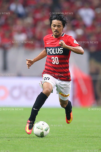 Shinzo Koroki (Reds), <br /> JULY 17, 2016 - Football /Soccer : <br /> 2016 J1 League 2nd stage match <br /> between Urawa Reds 2-2 Omiya Ardija <br /> at Saitama Stadium 2002 in Saitama, Japan. <br /> (Photo by AFLO SPORT)