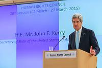 JOHN KERRY GENEVA UN MARCH 2 2015