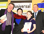 Overall winner of the 16 and Under Poetry section, receiving her certificate; Hannah Niciaragain..Picture: Shane Maguire / www.newsfile.ie.