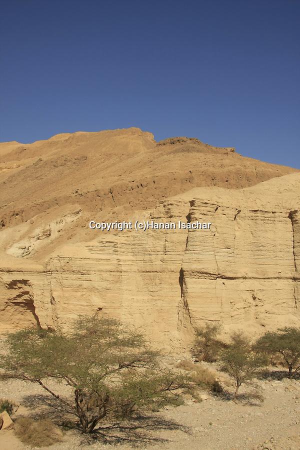 Israel, Wadi Zohar in the Judean Desert